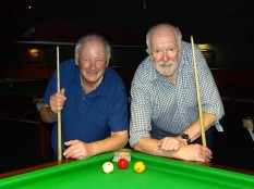 WEBSF Billiards Open Plate Finalist 2018-19 - Mick Kundi Winner & Martin Phillips Runner-up