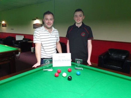 Gold Series Event 4 Finalists Winner Ben Hancorn - Runner-up Aidan Murphy 2018-19 (3)