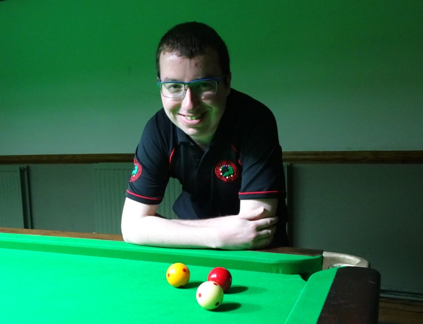 WOE Open Billiards Highest Break Winner (160) - Chris Coumbe 2018-19