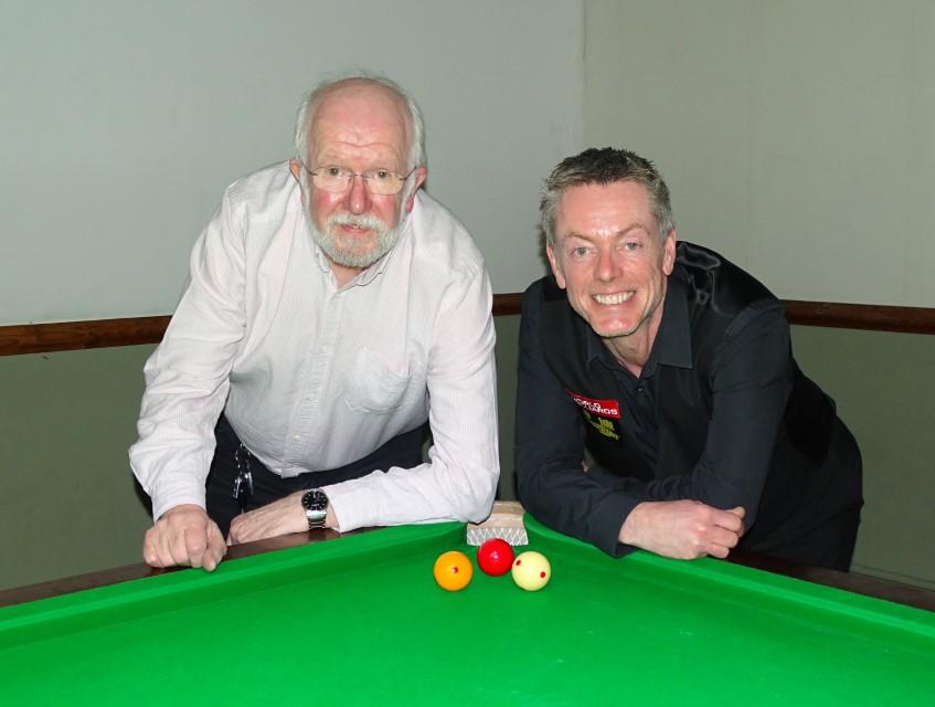 WOE Open Billiards Plate Finalists - Martin Phillips & Korbin Lowe 2018-19