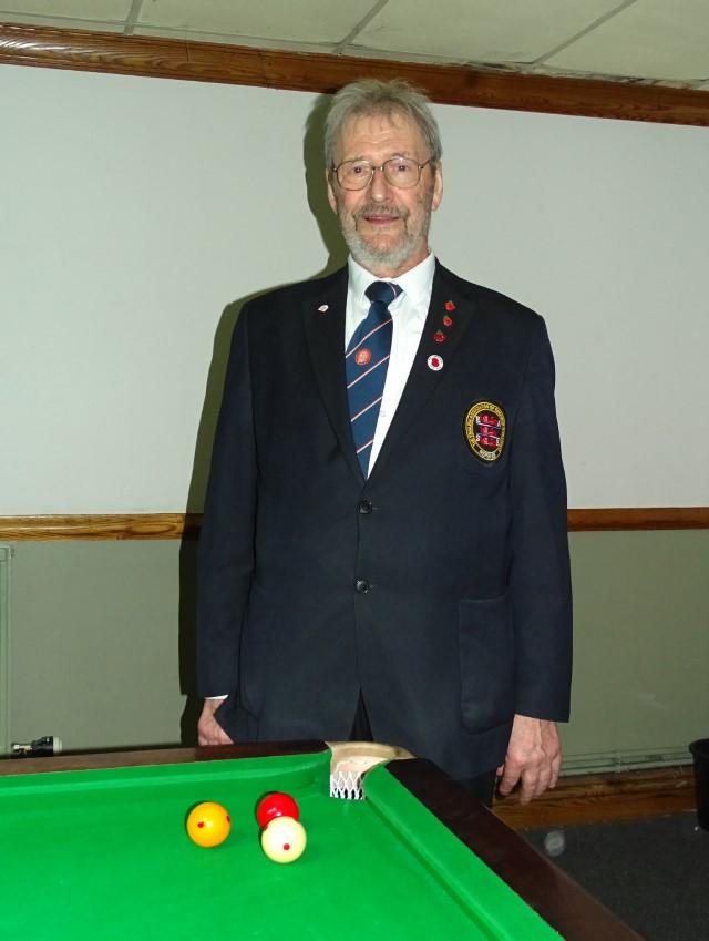 WOE Open Billiards Referee - David Cook 2018-19