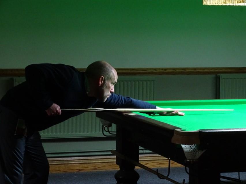WOE Open Billiards Runner-up Graham Ward 2018-19