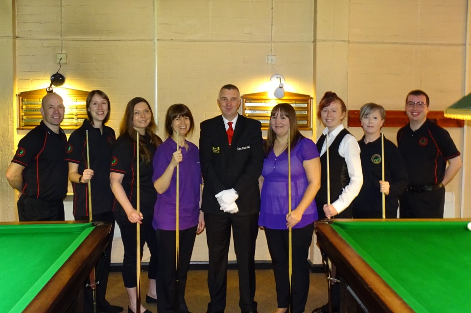 Ladies Snooker Open 2019 - The Players & Referees