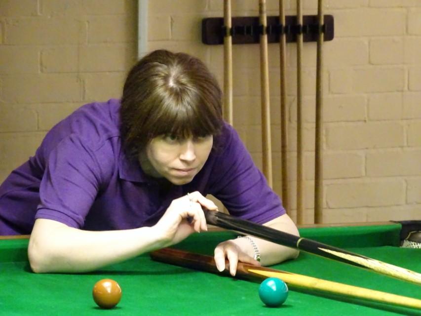 WEBSF Ladies Snooker Open Plate Runner-up - Stacey Graham 2019