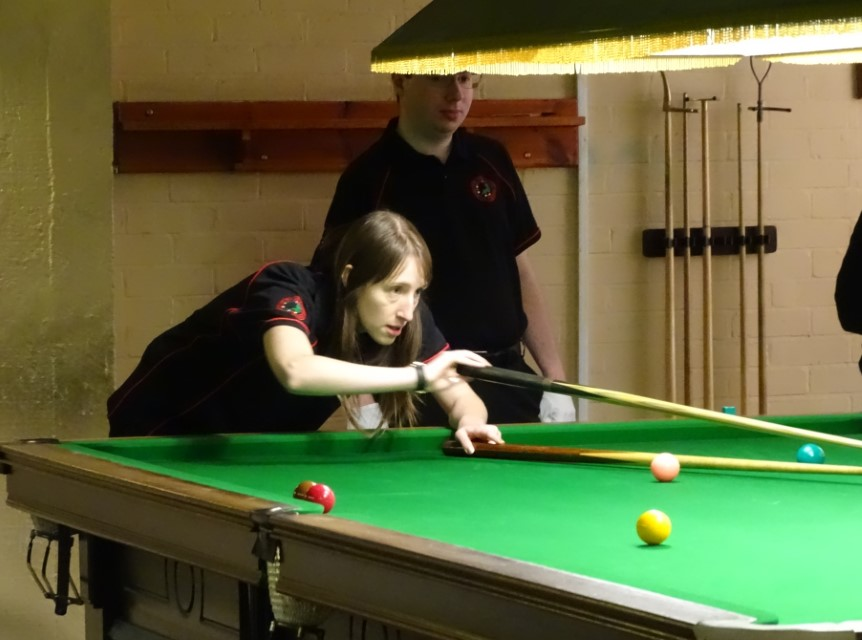 WEBSF Ladies Snooker Open Plate Winner - Sophie Gibbs-Nicholls 2019