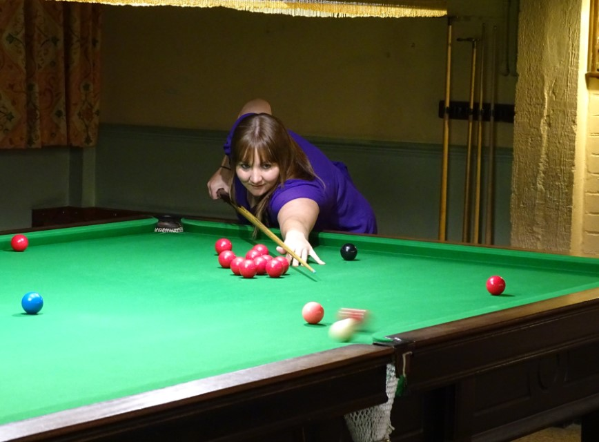 WEBSF Ladies Snooker Open Runner-up - Traci Wannell 2019