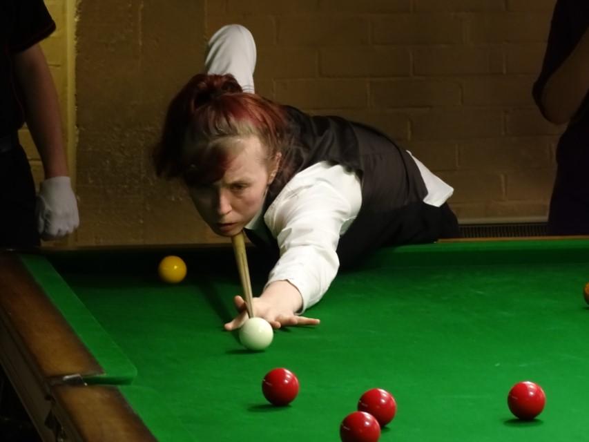 WEBSF Ladies Snooker Open Semi-Finalist - Connie Stephens 2019