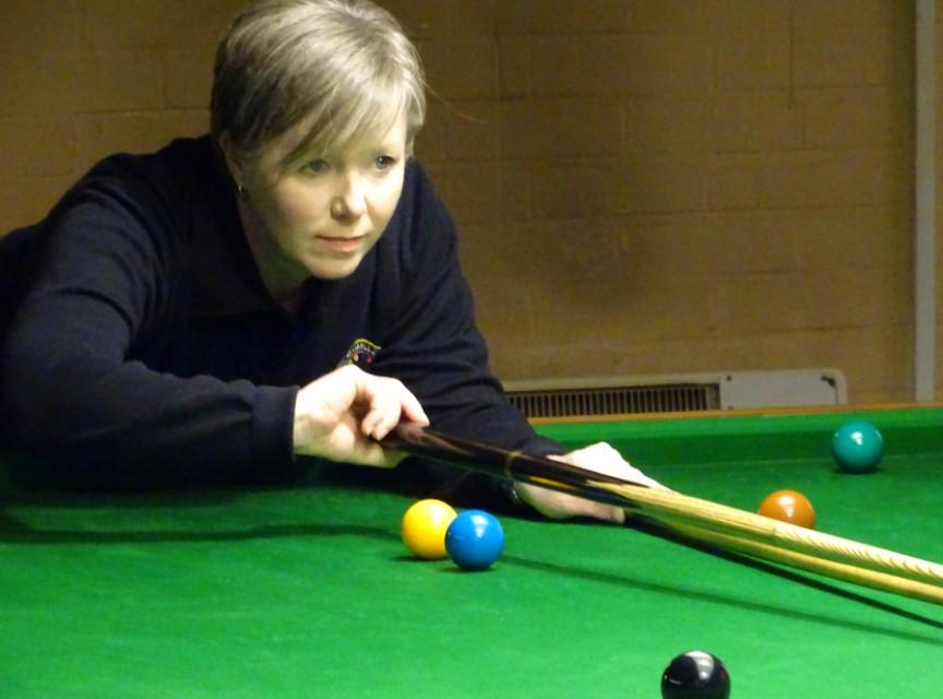 WEBSF Ladies Snooker Open Semi-Finalist - Deborah Branton 2019