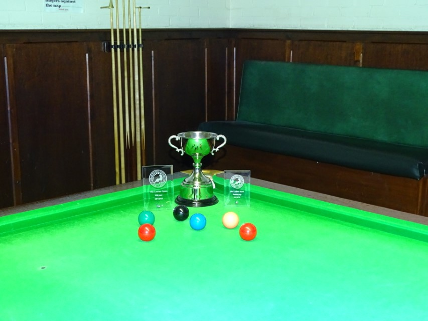 WEBSF Ladies Snooker Open Trophies 2019 (Library)