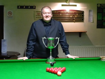 Gold Series Overall Winner Alan Tunney 2018-19