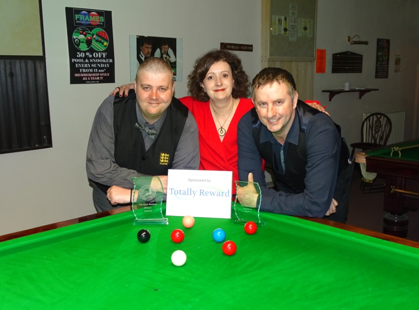 WEBSF Gold Masters Finalists - Winner Andy Symons Runner-up Andy Neck 2019