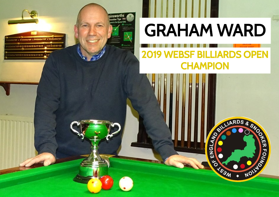 WEBSF English Billiards Winner - 2019-20