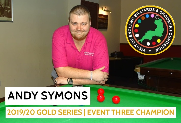 Gold Series Event 3 Winner - Andy Symons