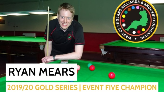 Gold Series - Event 5 Winner - Ryan Mears 2019-20