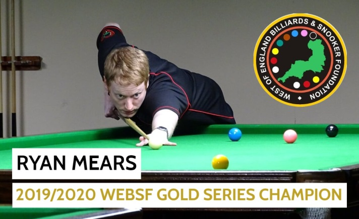 Gold Series Event five and Overall Winner - Ryan Mears 2019-20